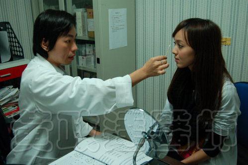 玻尿酸微整形隆鼻術前術後比較-Kiwi03 拷貝